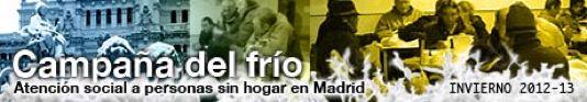 Campaña del Frío. Madrid, invierno 2012-13 y 2013-2014