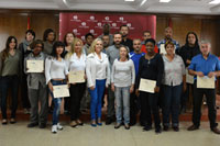 Guadalajara: entrega de diplomas de cursos de inserción laboral