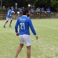 Ya en las canchas el equipo de fútbol de Refugiados en León
