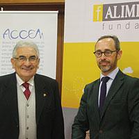 Presentado en León el convenio entre Accem y la Fundación Alimerka