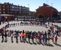 León: acto final de las actividades de solidaridad con los refugiados