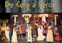 El musical 'De Cero a Héroe', en Sevilla, a beneficio de Accem