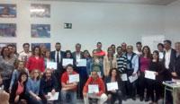 Cartagena: entrega de diplomas de los cursos para la inserción laboral