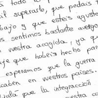 Asturias: carta a los refugiados del alumnado del colegio Aurelio Menéndez