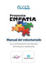Manual del voluntariado en la intervención con personas refugiadas e inmigrantes